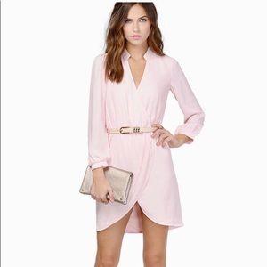 Tobi dress, above knee, blush pink